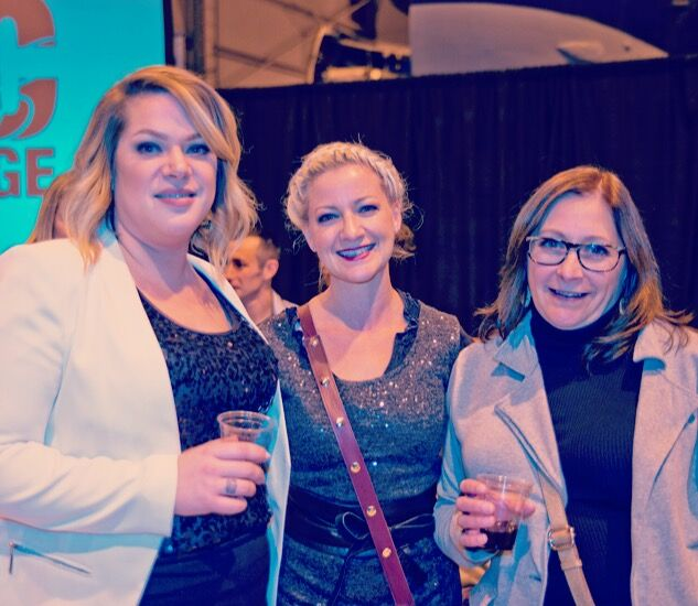 Here I am with Anna McGregor, Director of MC College Winnipeg Faculty and Cheryl Harrison, MC College VP of Operations.